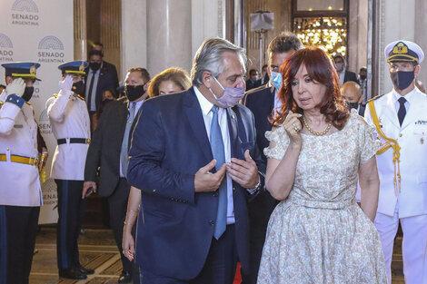 Alberto Fernández y Cristina Kirchner definirán en los próximos días las candidaturas. (Fuente: Presidencia)