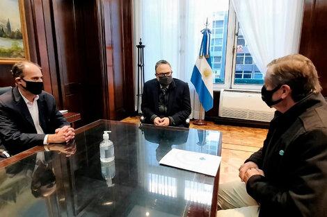 El ministro Matías Kulfas recibió a las nuevas autoridades de Coninagro.