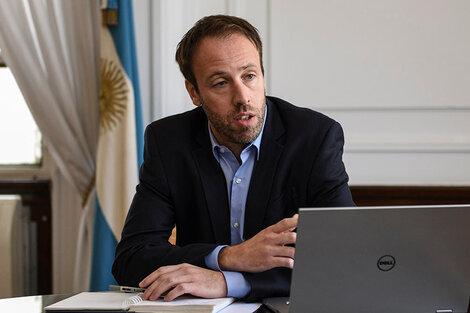 El ministro de Hacienda y Finanzas bonaerense, Pablo López. (Fuente: Télam)