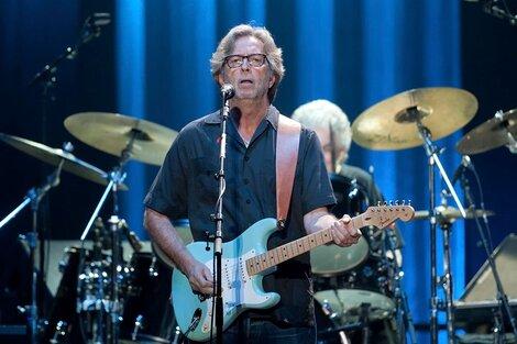 Clapton es uno de los músicos de rock más celebrados de la historia. (Fuente: AFP)