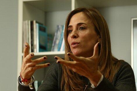 """La precandidata del FdT afirmó que uno de los objetivos del Gobierno es marchar hacia """"una Argentina productiva"""". (Fuente: Bernardino Avila)"""