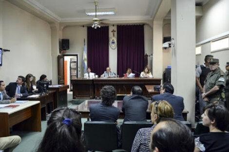 La audiencia en la causa Ragone II. (Fuente: Gentileza Infojus)