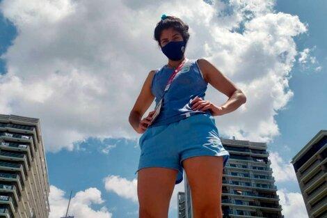 Dayana Sánchez, boxeadora olímpica cordobesa. (Fuente: Instagram)