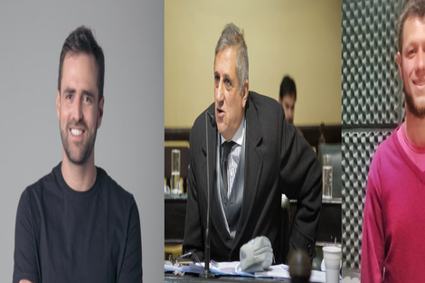 Estrada, Guaymas y Da Souza, candidatos a diputado nacional
