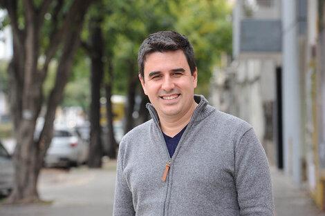 Eduardo Toniolli, candidato y referente del Movimiento Evita. (Fuente: Andres Macera)