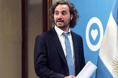 Santiago Cafiero, duro con las internas de la oposición. (Fuente: Télam)