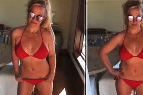 Britney Spears sin filtros.