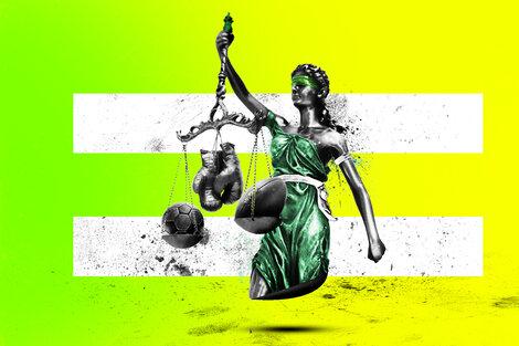 Representar a la justicia en un contexto de desigualdad, el desafío de las mujeres árbitras. (Fuente: Juan Battilana)