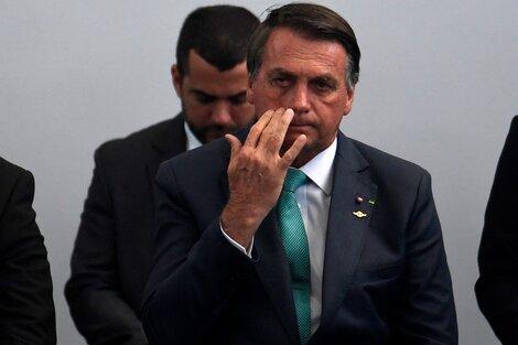 Jair Bolsonaro encabeza las amenazas institucionales. (Fuente: AFP)