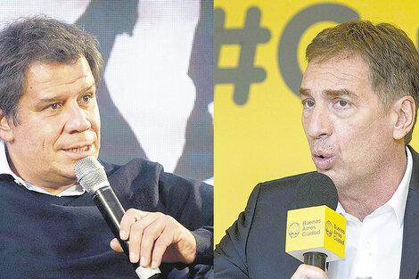 Facundo Manes vs Diego Santilli.