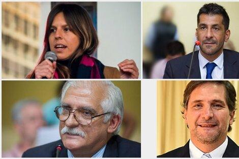 Liendo, Chibán, Zapata y Avellaneda.
