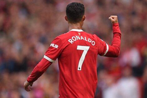CR7 y su vuelta soñada al United con dos goles (Fuente: AFP)