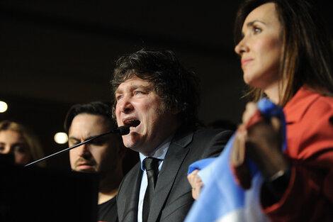 Con los votos que obtuvo en las PASO Javier Milei logró instalarse en la Ciudad de Buenos Aires. (Fuente: Enrique García Medina)