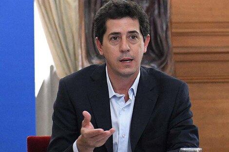 """""""Wado"""" de Pedro juró como ministro del Interior al asumir Alberto Fernández, en diciembre de 2019."""