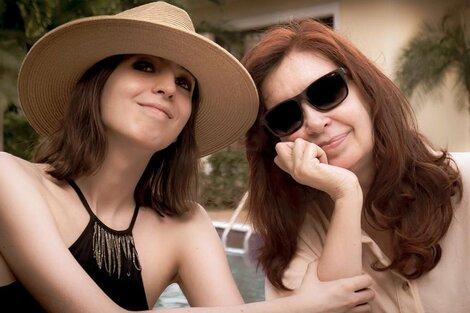 "Florencia Kirchner compartió en Instagram la carta de Cristina Kirchner y dijo que era ""clarísima"". (Fuente: NA)"