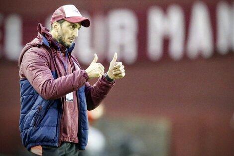 Luis Zubeldía, entrenador del Lanús que quiere regresar a la cima (Fuente: Fotobaires)