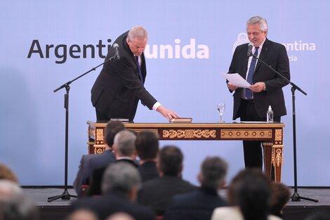 Perzyck, nuevo ministro del Gabinete nacional (Fuente: Télam)
