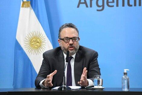 Matías Kulfas, ministro de Desarrollo Productivo. (Fuente: NA)