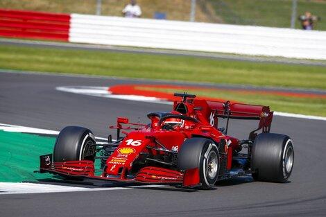 Charles Leclerc, piloto de Ferrari. (Fuente: Xinhua)