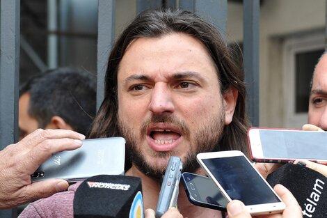 Juan Grabois es dirigente de la Confederación de Trabajadores de la Economía Popular. (Fuente: Télam)