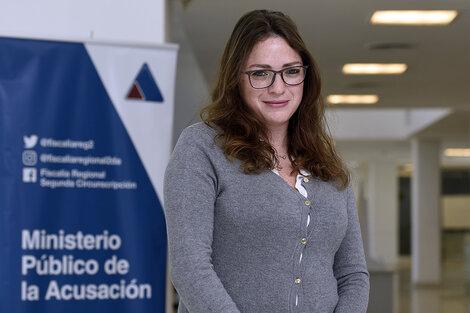 La fiscal Valeria Haurigot. (Fuente: Andres Macera)