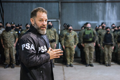 Glinski, director de la PSA que realizó importantes allanamientos.