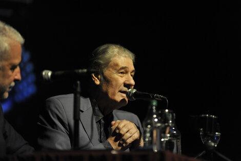"""""""Toda la vida de Piazzolla fue una aventura formidable"""", dijo Morales. (Fuente: Alexandra Monges)"""