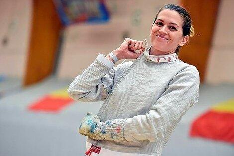 La sonrisa de Belén Pérez Maurice en un entrenamiento (Fuente: Instagram)