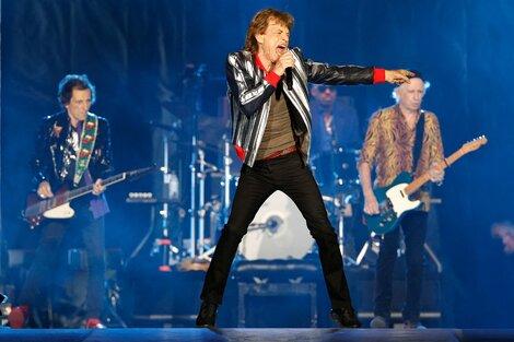 Los Rolling Stones hicieron su primer show sin el baterista Charlie Watts. (Fuente: AFP)