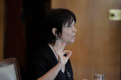 Titular de la AFIP, Mercedes Marcó del Pont. (Fuente: AFIP)