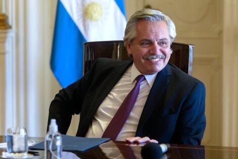 """Alberto Fernández participará del """"Diálogo de Alto Nivel"""", convocado por la ONU y la OIT para debatir la respuesta internacional coordinada al impacto de la pandemia de coronavirus en el mundo del trabajo. (Fuente: NA)"""
