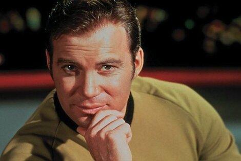 William Shatner protagonizó al Capitán Kirck en Star Trek y ahora irá al espacio gracias a Jeff Bezos.