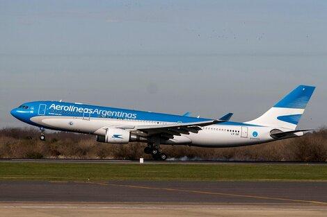 Aerolineas Argentinos suma vuelos para la temporada de verano. (Fuente: Bernardino Avila)