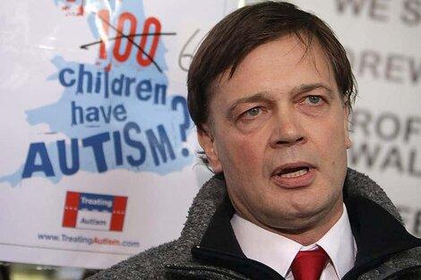 El médico británico Andrew Wakefield (Fuente: AFP)