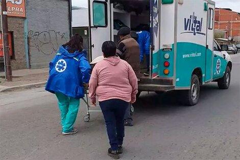 Una ambulancia perdió en Bariloche al paciente que trasladaba.