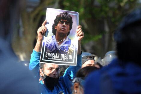 A menos de un año de la muerte Diego Maradona, este 30 de octubre, día de su cumpleaños, se lanzará Maradólar, una criptomoneda en su honor. (Fuente: Bernardino Avila)
