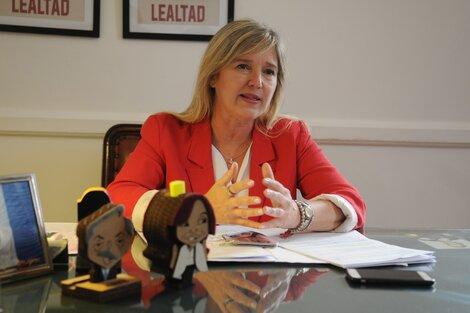 """""""El desafío es desendeudar a las familias y volver a crecer"""", afirma Cristina Alvarez Rodríguez sobre las prioridades del gobierno bonaerense a un mes de asumir como ministra de Gobierno tras la derrota en las Paso. (Fuente: Guadalupe Lombardo)"""
