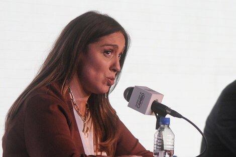 """""""Ya presenté mi declaración jurada"""", fue la escueta respuesta de Vidal en una entrevista que luego dio por finalizada."""