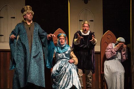 Los Macocos en escena, un festín teatral.