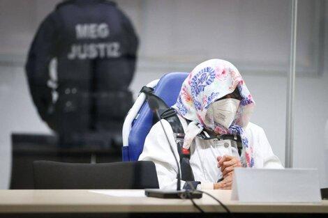 Irmgard Furchner, acusada de cómplice en el asesinato de 11.380 personas en un campo nazi. (Fuente: AFP)