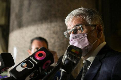 Feletti, secretario de Comercio, a la salida de la reunión con empresarios de alimentos.