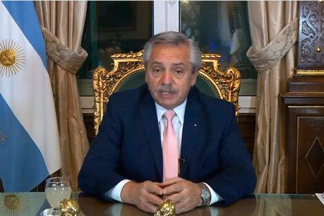 El Presidente participó en el segmento de alto nivel de la Cumbre de Finanzas en Común 2021.