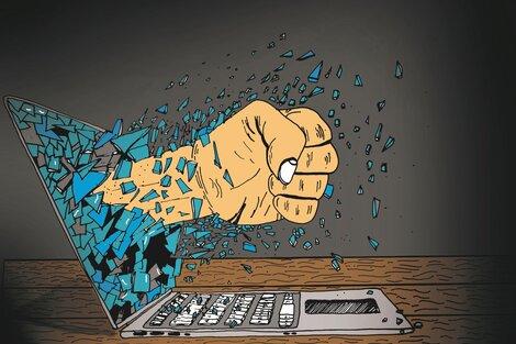 Los ataques coordinados de trolls a mujeres y lesbianas con voz propia en la política, el periodismo, las artes o las redes buscan silenciar con violencia. (Fuente: Julieta Arroquy)