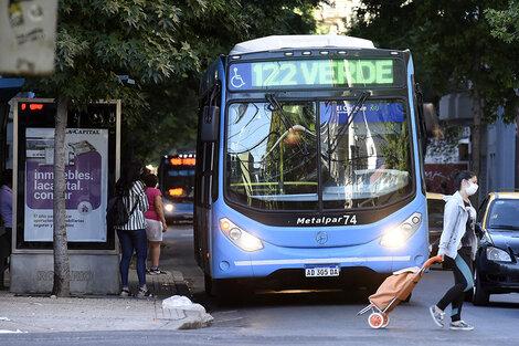 La línea 122 Verde será una de las reforzadas. (Fuente: Andres Macera)