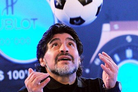 Maradona tendrá su homenaje en cada partido del próximo fin de semana.