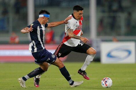 Enzo Pérez lleva 15 partidos jugados en el torneo y anotó dos goles (Fuente: AFP)