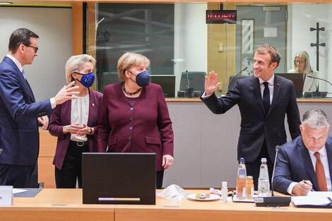 Merkel se fue aplaudida por sus pares de su última reunión del Consejo Europeo. (Fuente: AFP)