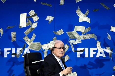 Joseph Blatter, presidente de la FIFA en el momento que estalló el escándalo (Fuente: AFP)