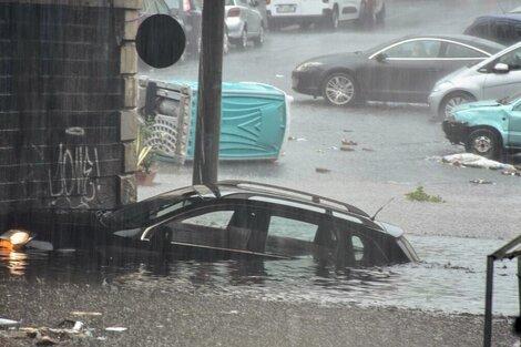 Las lluvias no dan tregua en la isla de Sicilia. (Fuente: EFE)