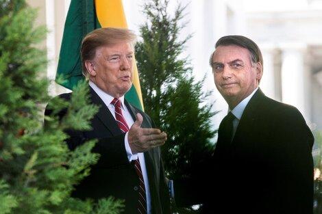 Trump recibe a Bolsonaro en la Casa Blanca en el 2019. (Fuente: EFE)